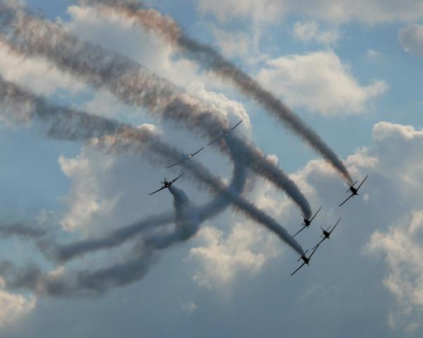 zespol akrobacyjny polskich sil powietrznych orlik