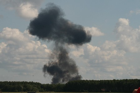 Katastrofa w Radomiu - 30 sierpnia 2009