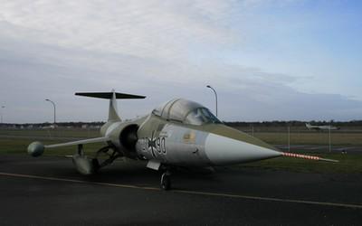 Lockheed TF-104G Starfighter -  muzeum Luftwaffe w Berlinie.