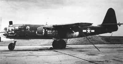 Arado Ar 234B Blitz - w barwach lotnictwa amerykańskiego