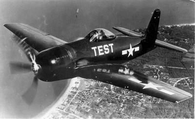 Grumman F8F Bearcat - w locie