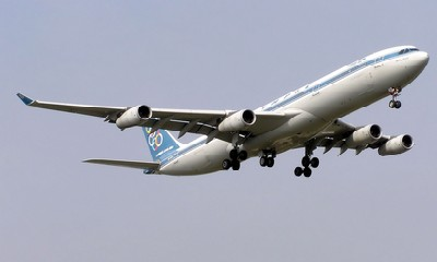 Olympic Airbus A340-300 (SX-DFB)