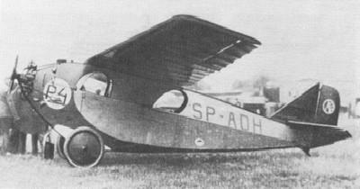 RWD-2 - podczas zawodów Challenge 1930