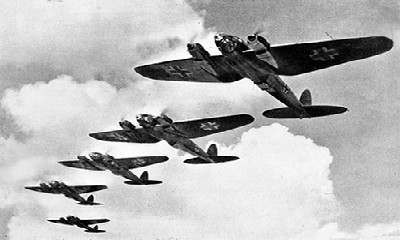 Heinkel He 111 - podczas bitwy o Anglię