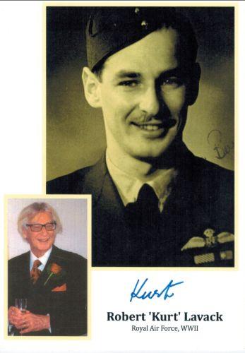 Robert Kurt Lavack autograf