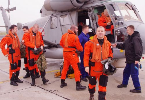 SH-2G - POWROT Z CWICZEN 04