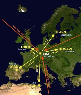 Europejska przestrzeń powietrzna