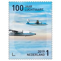 jubileuszowy znaczek pocztowy 100 lat lotnictwa.jpg