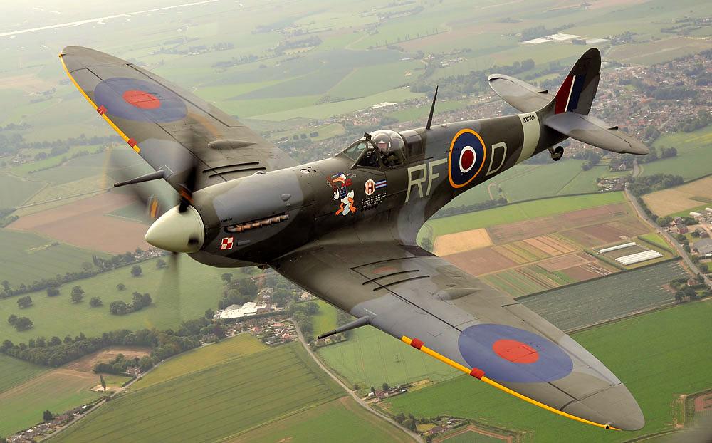Battle of Britan Memorial Flight - Spitfire