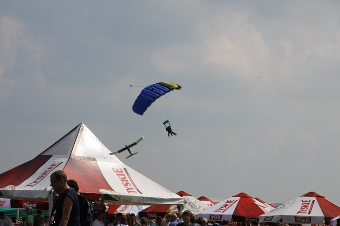 Festyn lotniczy w Michałkowie