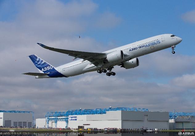 Airbus A350XWB fot aribus