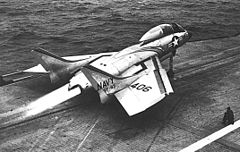 240px-F7U-3M Cutlass Launches from Intrepid CV11 1954