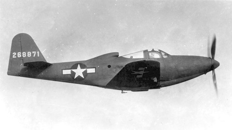 Bell P-63 Kingcobra in flight