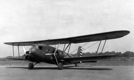 Curtiss YC-30 Condor front