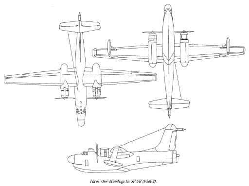 SP-5B 3-view-drawing