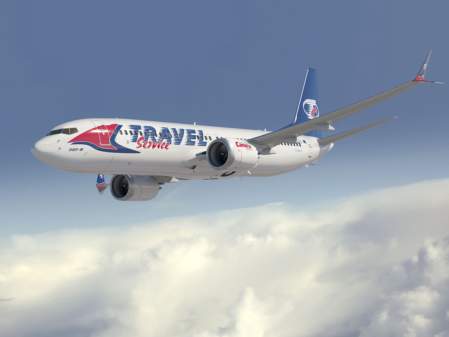 Travel Service Boeing 737